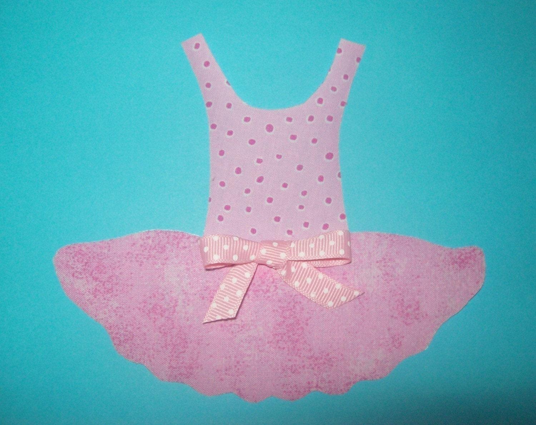 Fabric Applique TEMPLATE ONLY Ballerina Tutu Dance by etsykim