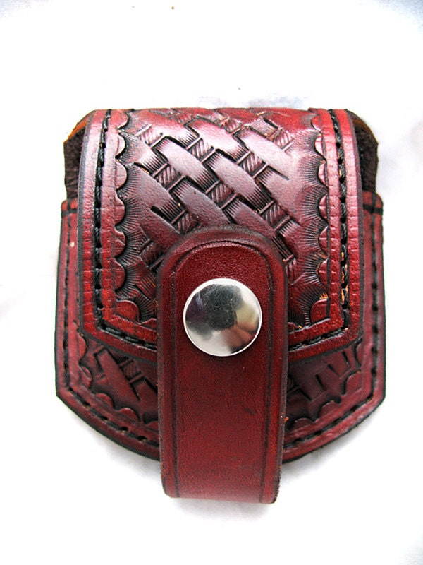 Handmade Leather Watch Pouch