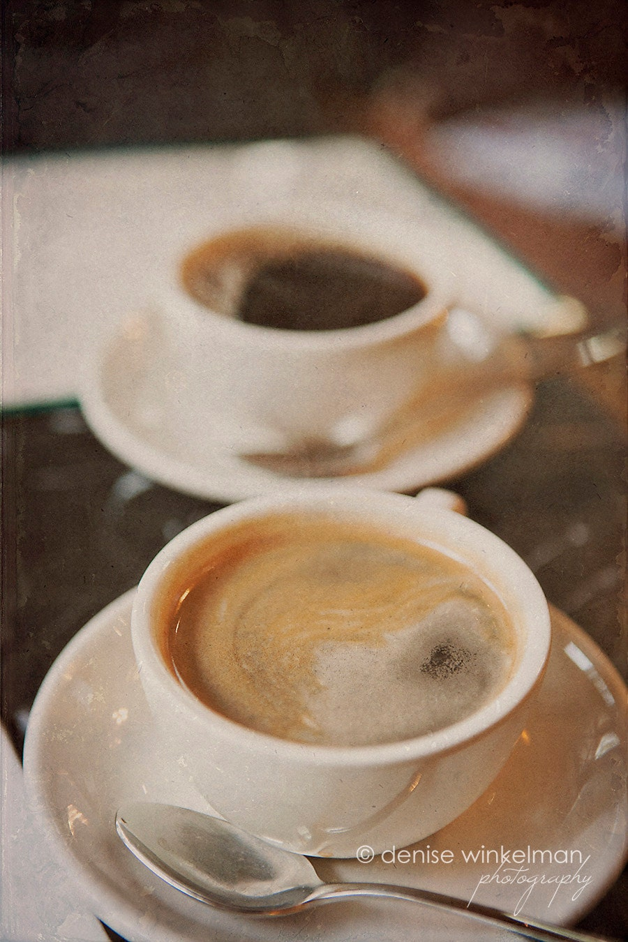 Coffee Duet, Scenes from a Cafe Series, 1 - Fine Art Photo - winkelmanphotoworks