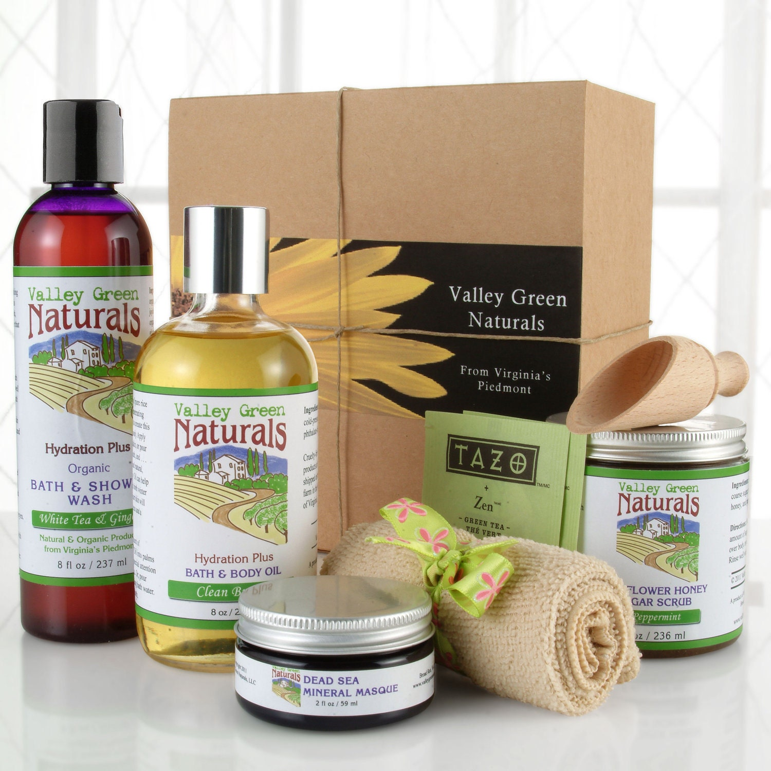 A Day at the Spa Gift Box, by Valley Green Naturals
