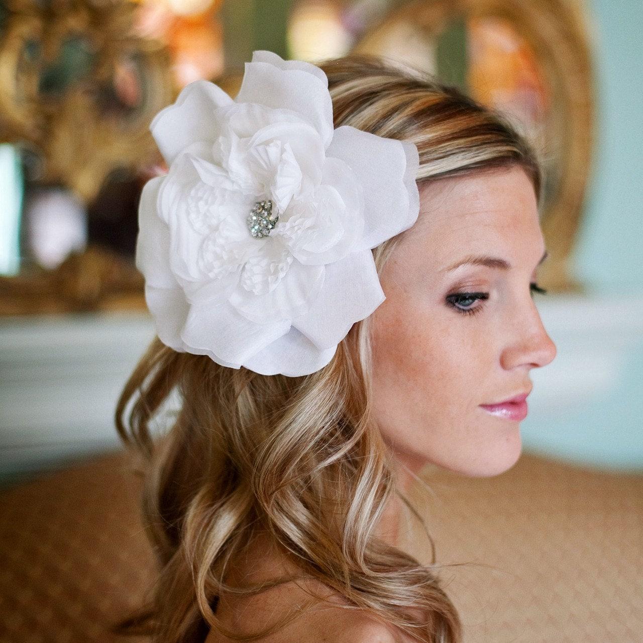 Flower Headband Tutorial: Estylo Jewelry: Flower Headband Or Clip DIY Tutorial