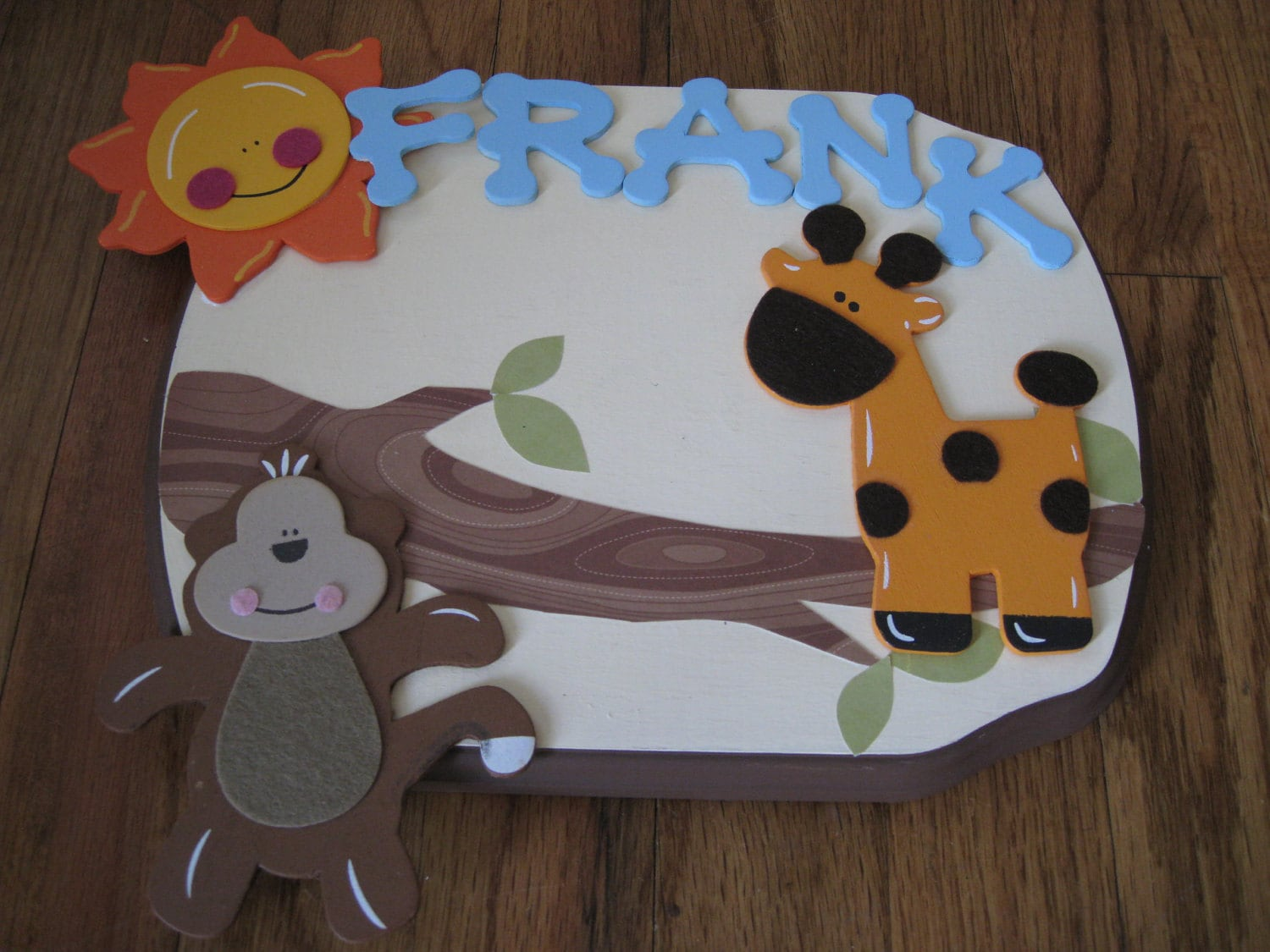 custom kids name plaques