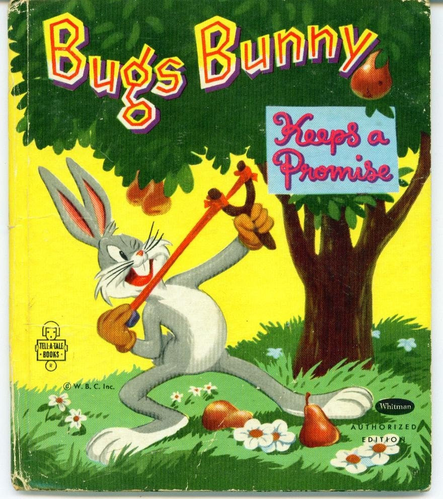 Vintage 1951 Whitman Bugs Bunny Book