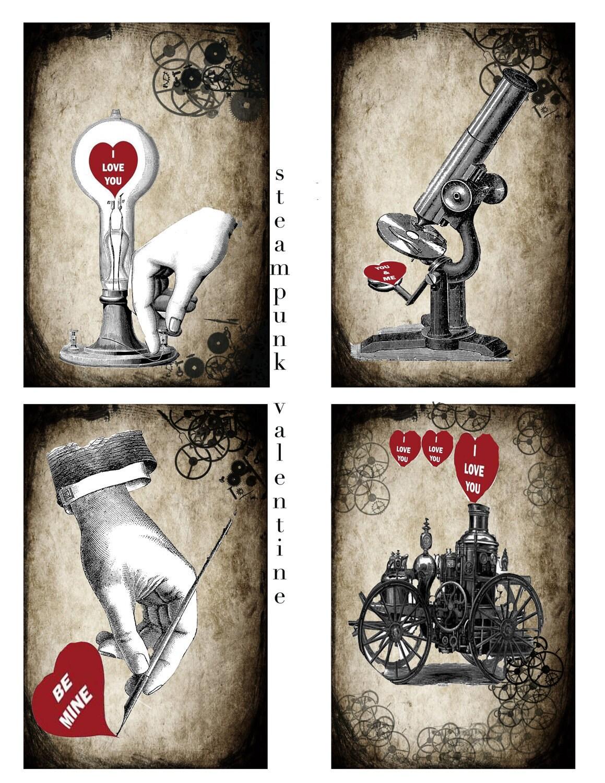 Steampunk Valentine's