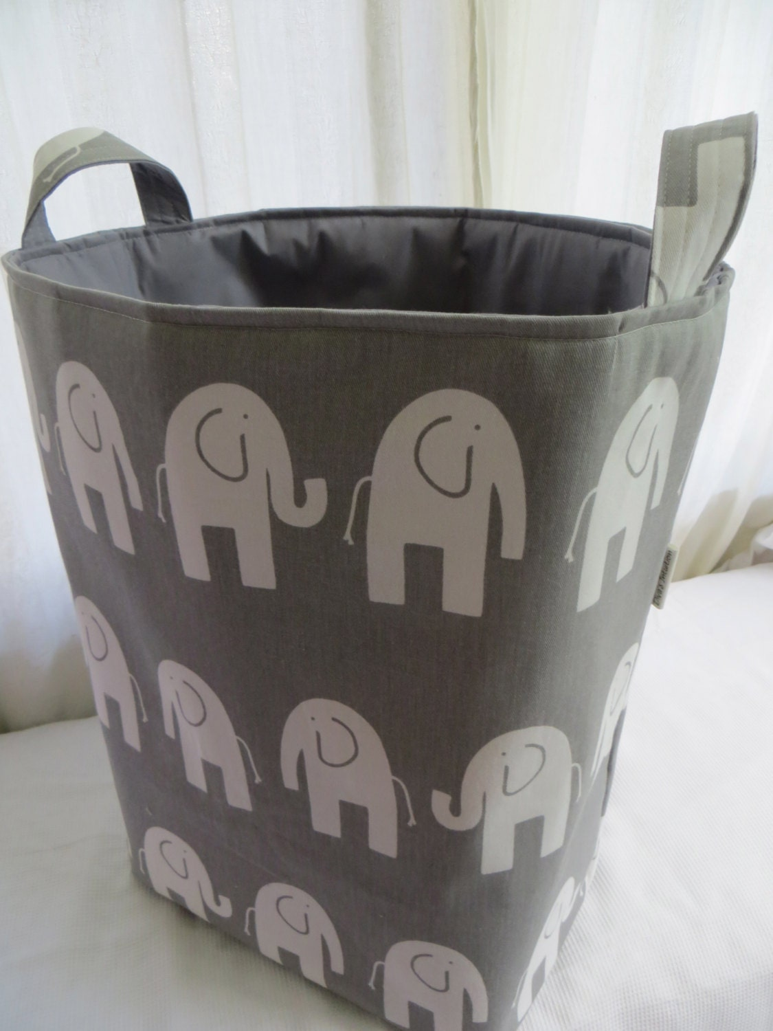 Storage bin laundry hamper toy basket for the by asintuition