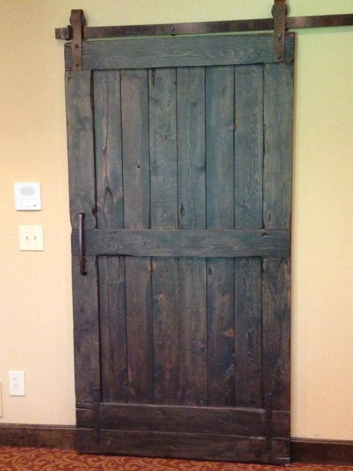 Vintage sliding barn door custom made to fit your by goodfromwood - Barn door patterns ...