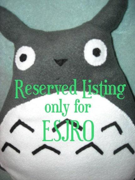 Reserved Listing for ESJRO