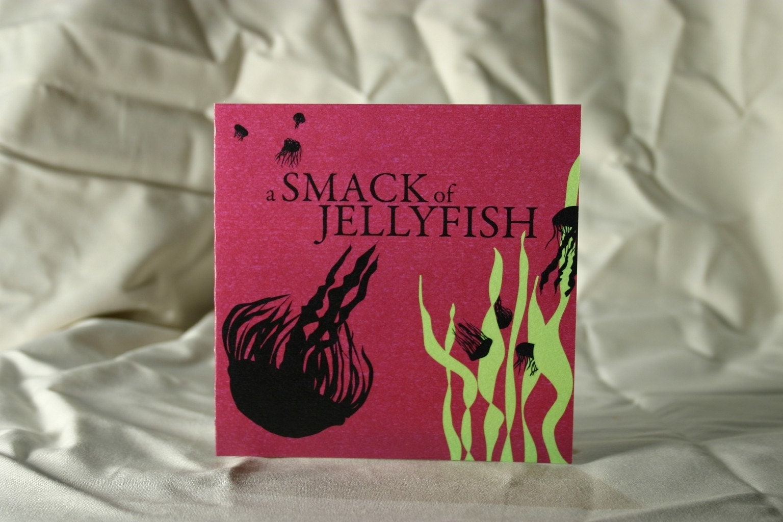A Smack of Jellyfish Greeting Card