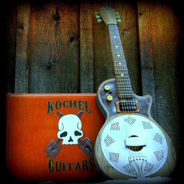 Electric resonator Gutiar, Blues Guitar, Slide Guitar - KochelGuitars