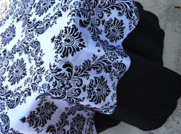 Black and white Damask Overlays 20 pcs Free domestic shipping