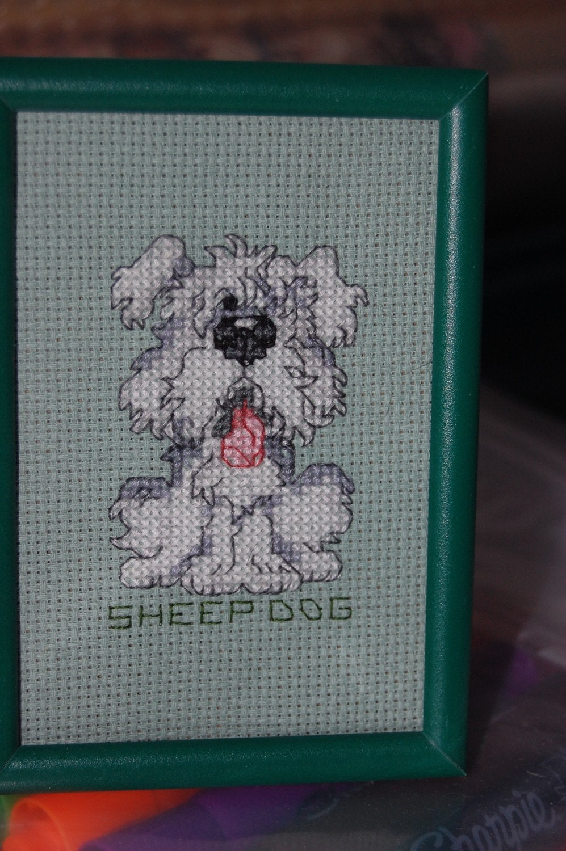 stitch   cartoon sheep dog