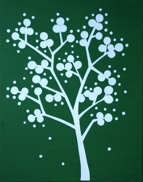 Green and White Idea Tree by AndThen