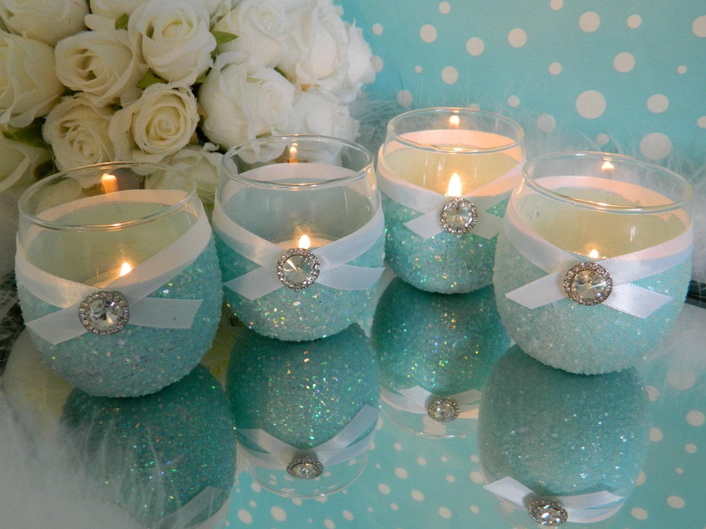 ... Tiffany Blue Wedding, Breakfast At Tiffanys, Wedding Candles, FROZEN