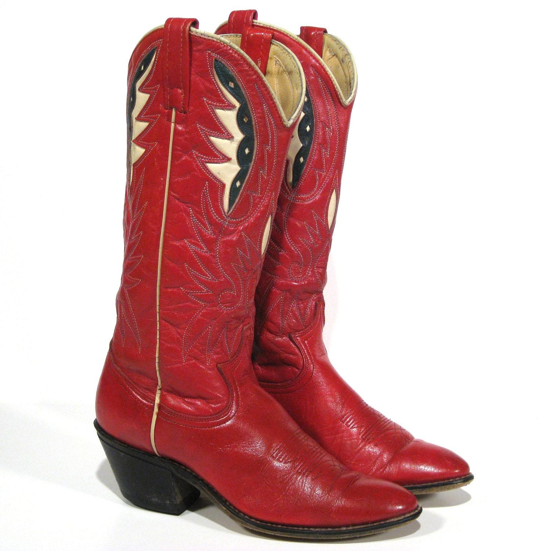 Vintage Cowboy Boots Wmns 6 1/2 ACME