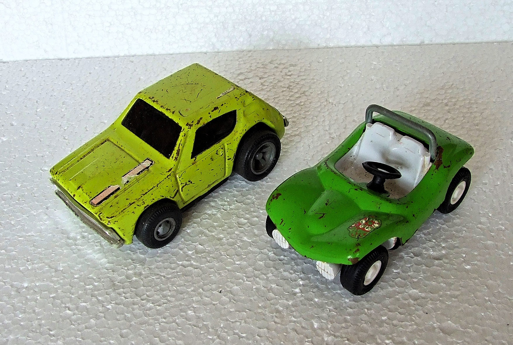 Vintage Tonka Gremlin and Buggy
