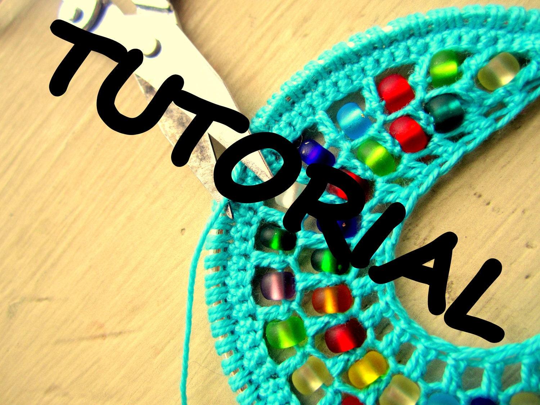 Crochet Hoops Tutorial PDF Pattern Jewelry by BohemianHooksJewelry