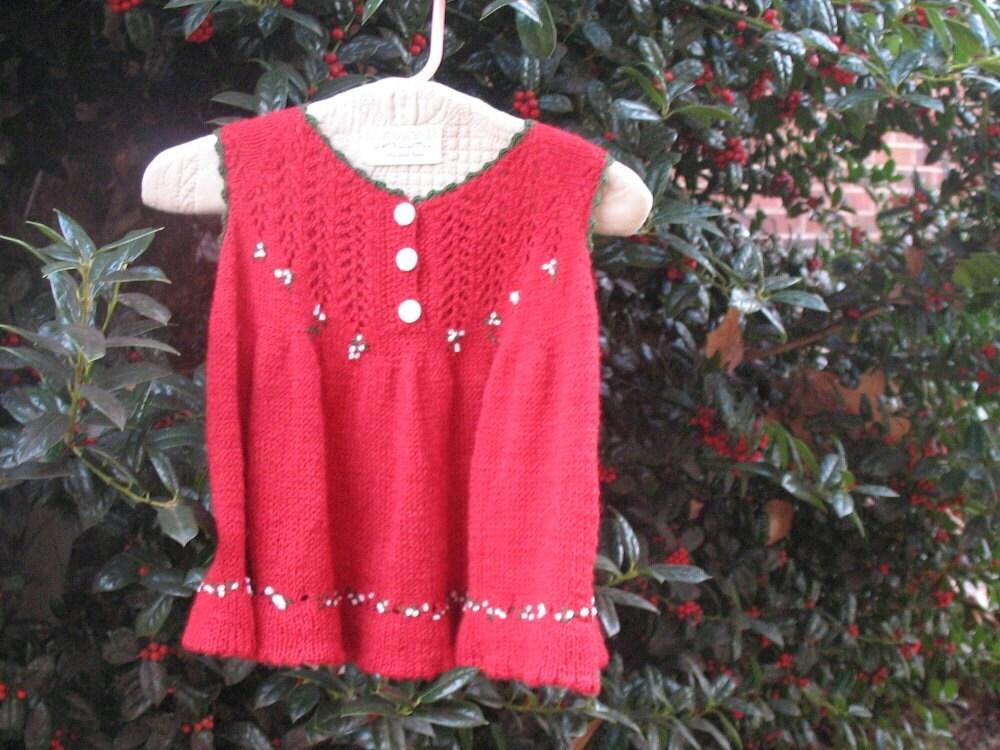 Christmas Princess smock/ style 110510