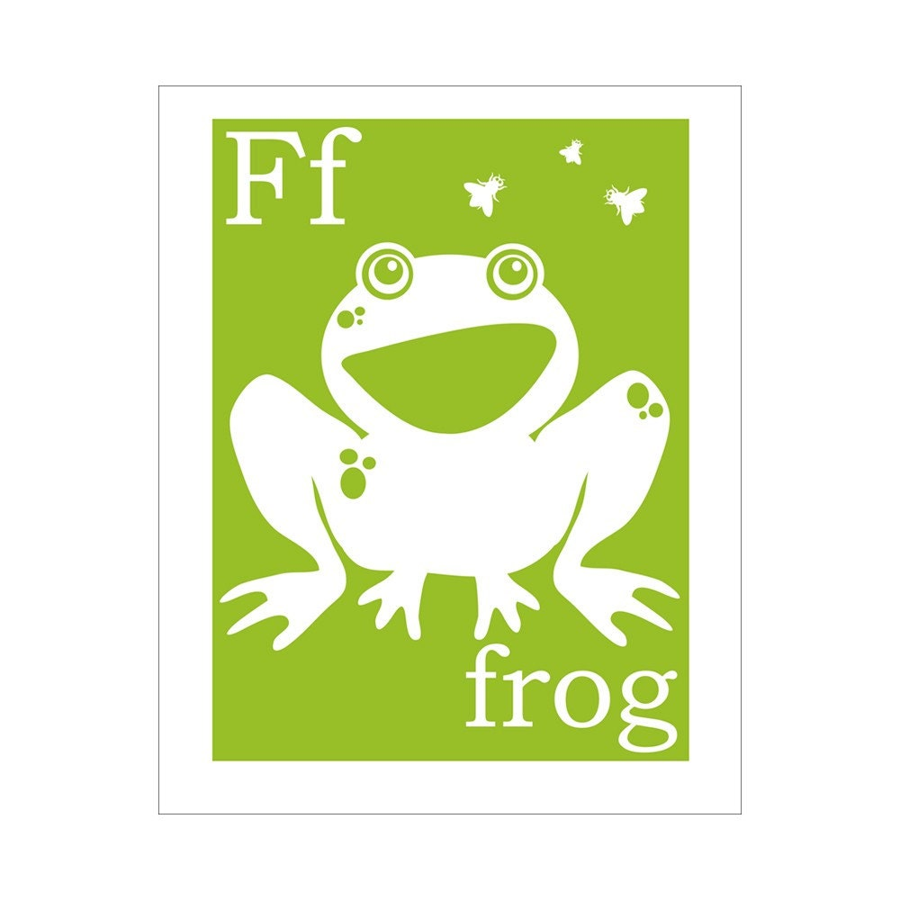 f is for frog books activities