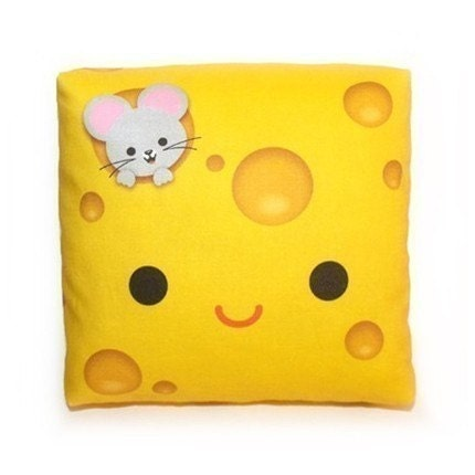 Yummy Cheese - Mini Decor Pillow