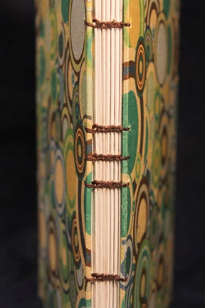 Concentric - Hardcover Coptic Stitched Lined Journal