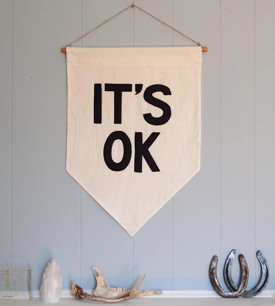 IT'S OK Banner - SecretHolidayCo
