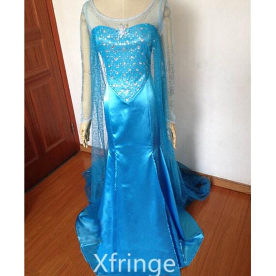 Elsa Dress Elsa Costume Elsa Frozen Dress Costume Frozen Elsa Cosplay