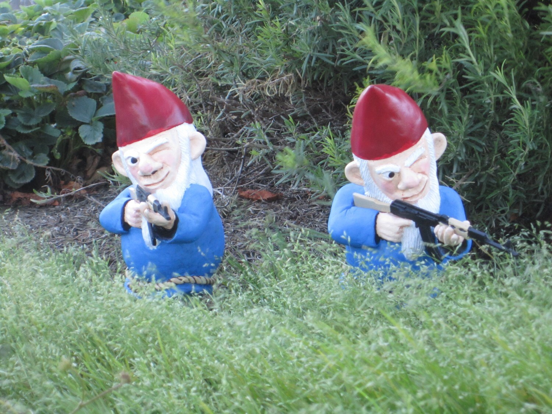 funny stuff combat garden gnomes feral jundi