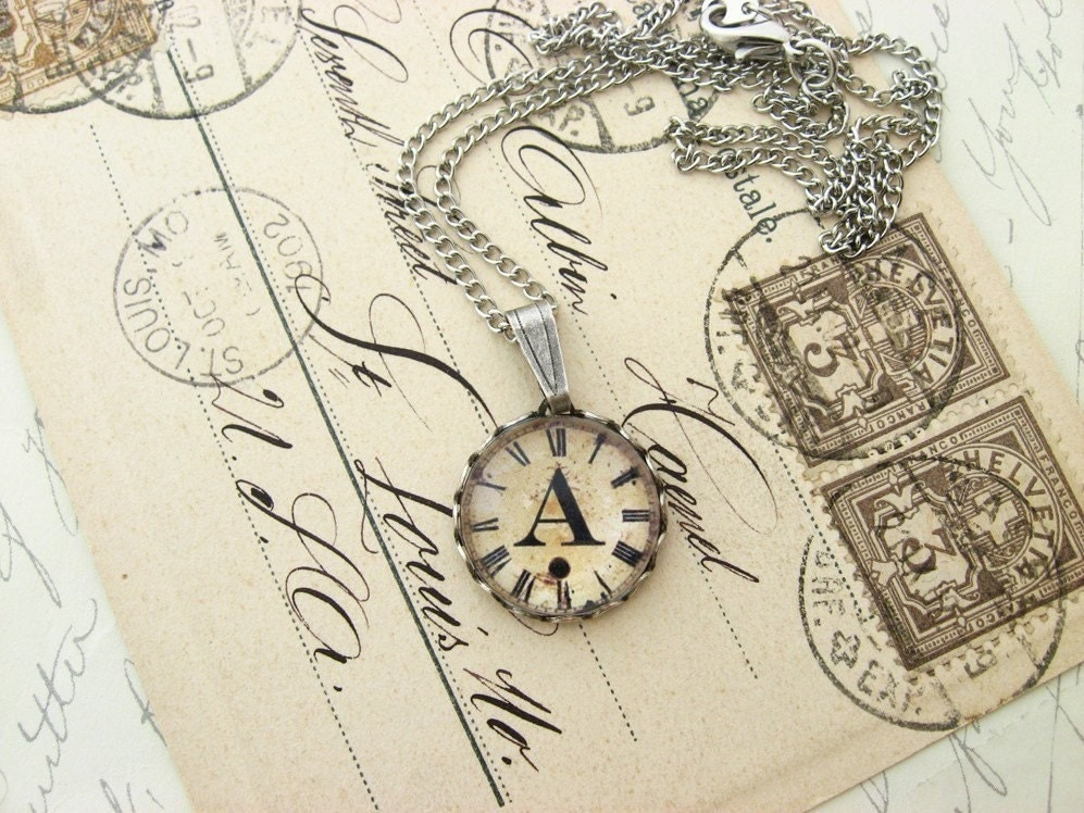 Choose Your Letter...Initial Charm Necklace