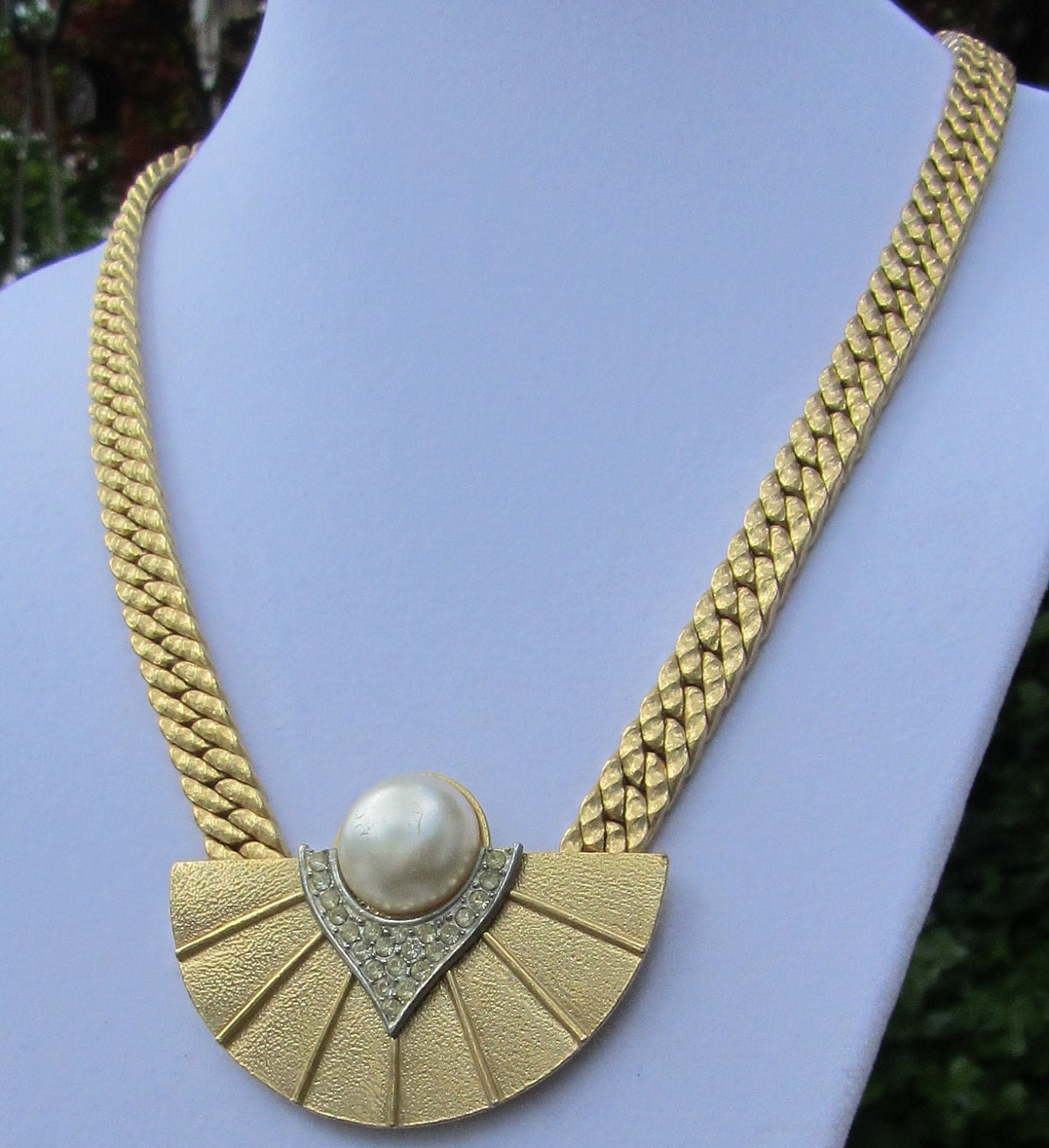vintage jewelry clearance parklane pearl necklace by