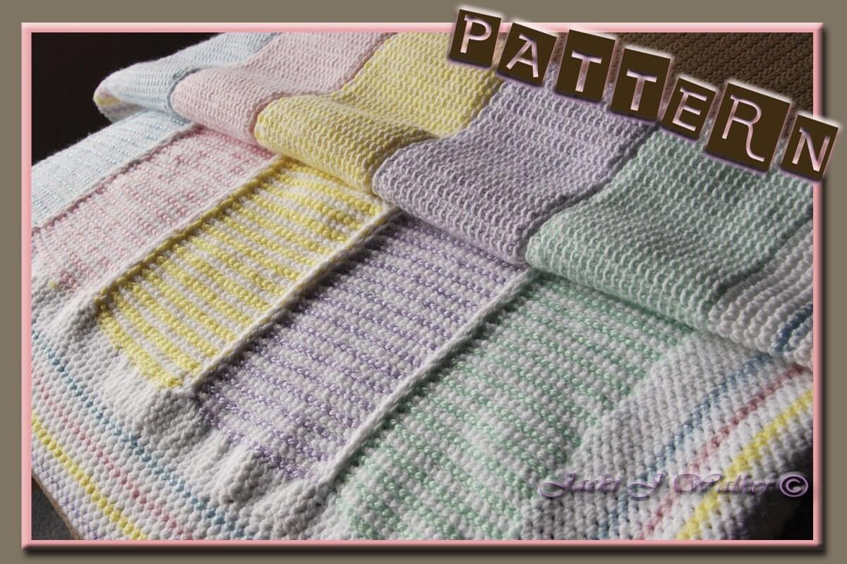 Online Tunisian Crochet Patterns - CrochetKim.com