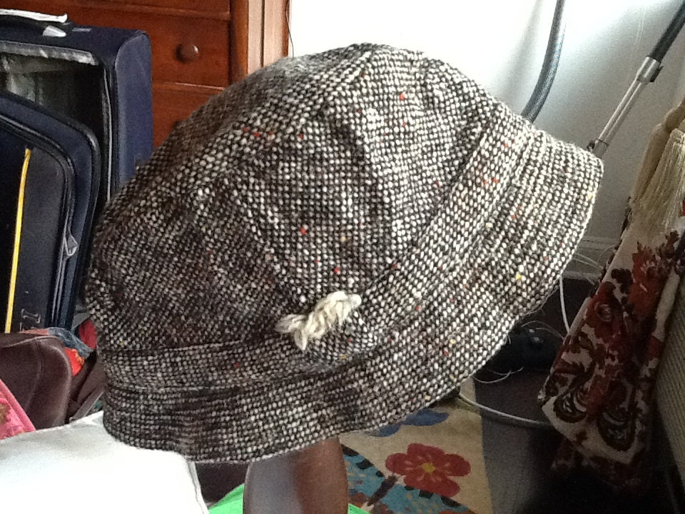 vintage ll bean tweed s hat by david sons by