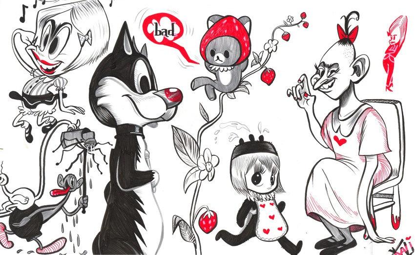 Fun Time Brush Pen Doodle (Original)