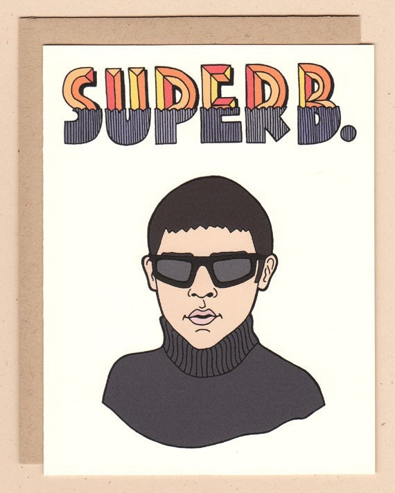 SUPERB card - tribute to Lucas from Empire Records