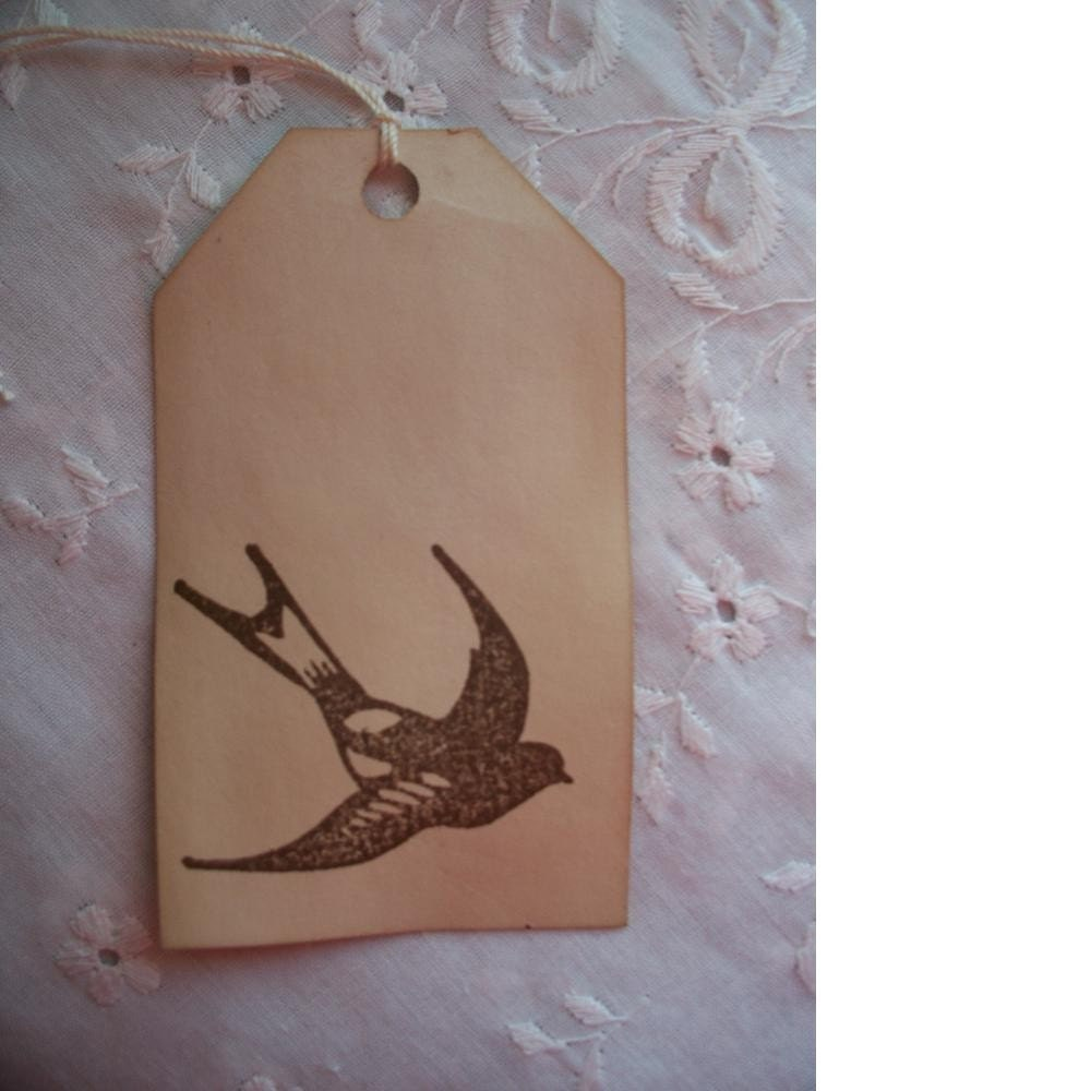 Bird in Flight Gift Tags Price Tags set of 20 medium