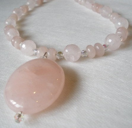 Sweetheart Pink Necklace