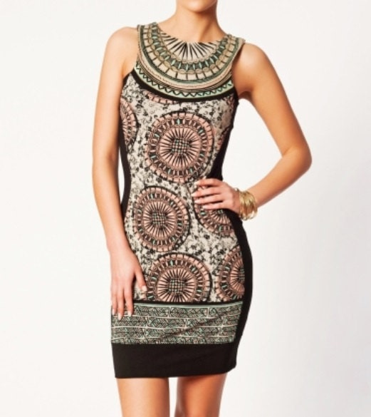 Printed Dress - denimtrend