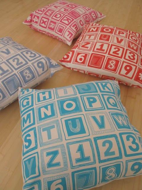 ABC Large Cushion Cover