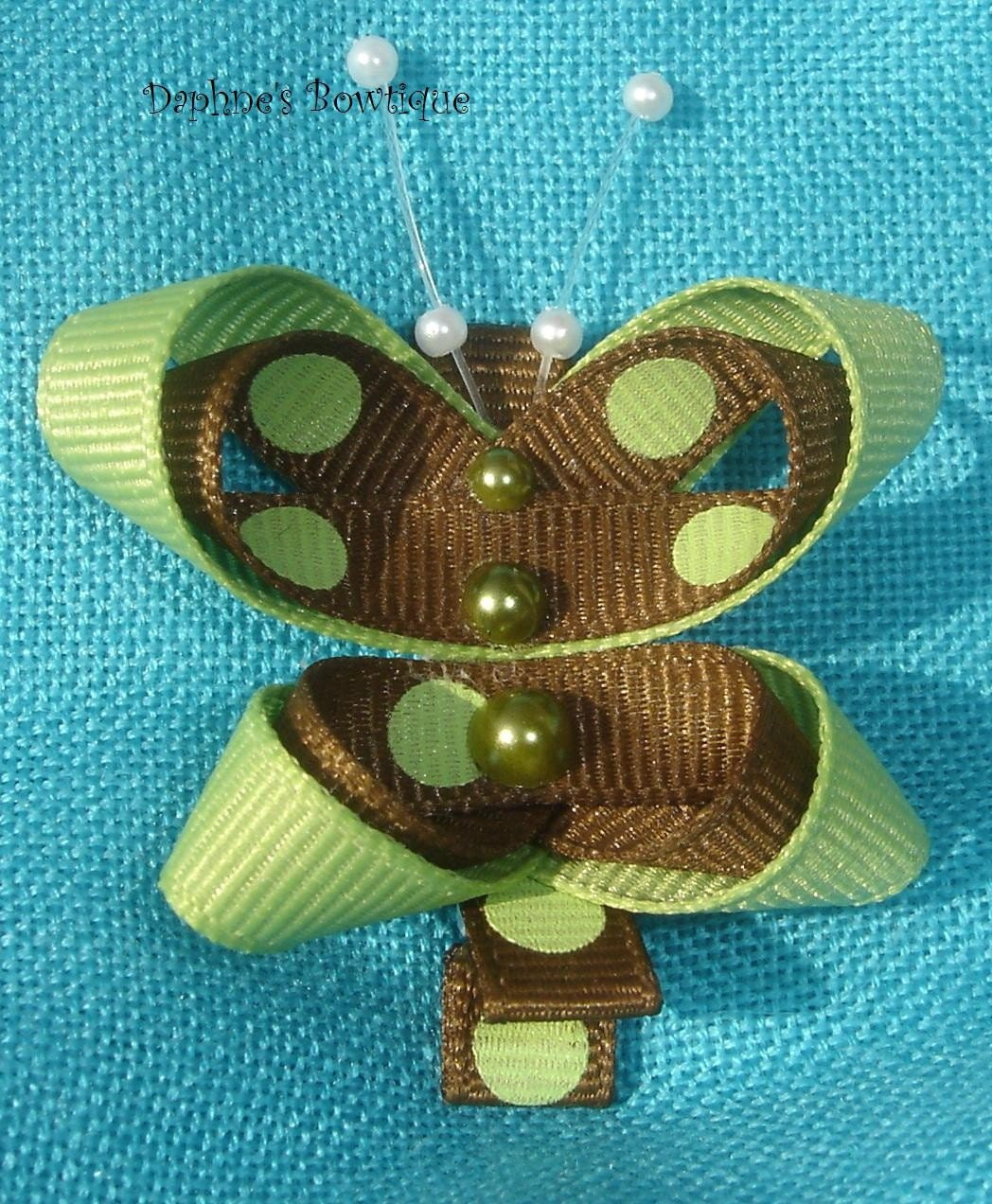 French  butterfly Hair Clip