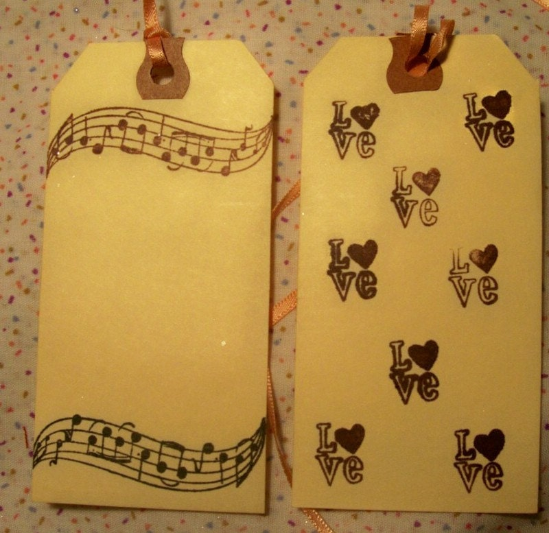 Each large tag measures 4 3/4 inches