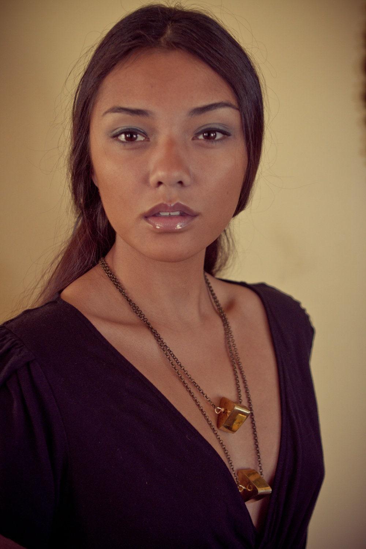 Chaya Triangle Necklace