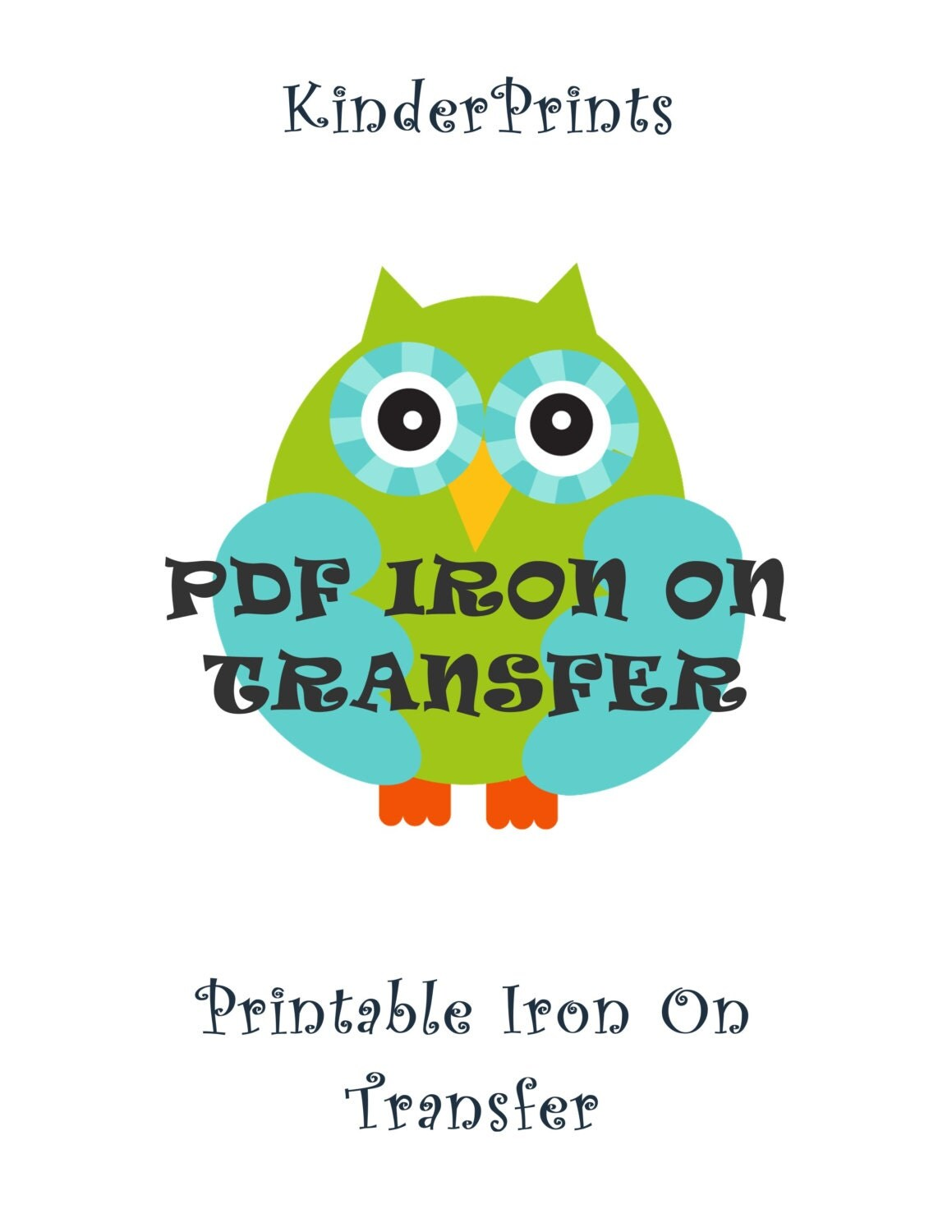 Items similar to printable pdf iron on transfer design for for Create your own iron on transfer for t shirt