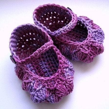 Patrones de zapatos tejidos para bebés - Imagui