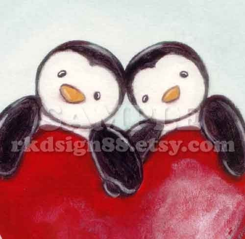 rkdsign88.blogspot.com etsy love valentine cute children painting fun illustration nursery drawing art print cute whimsical reproduction