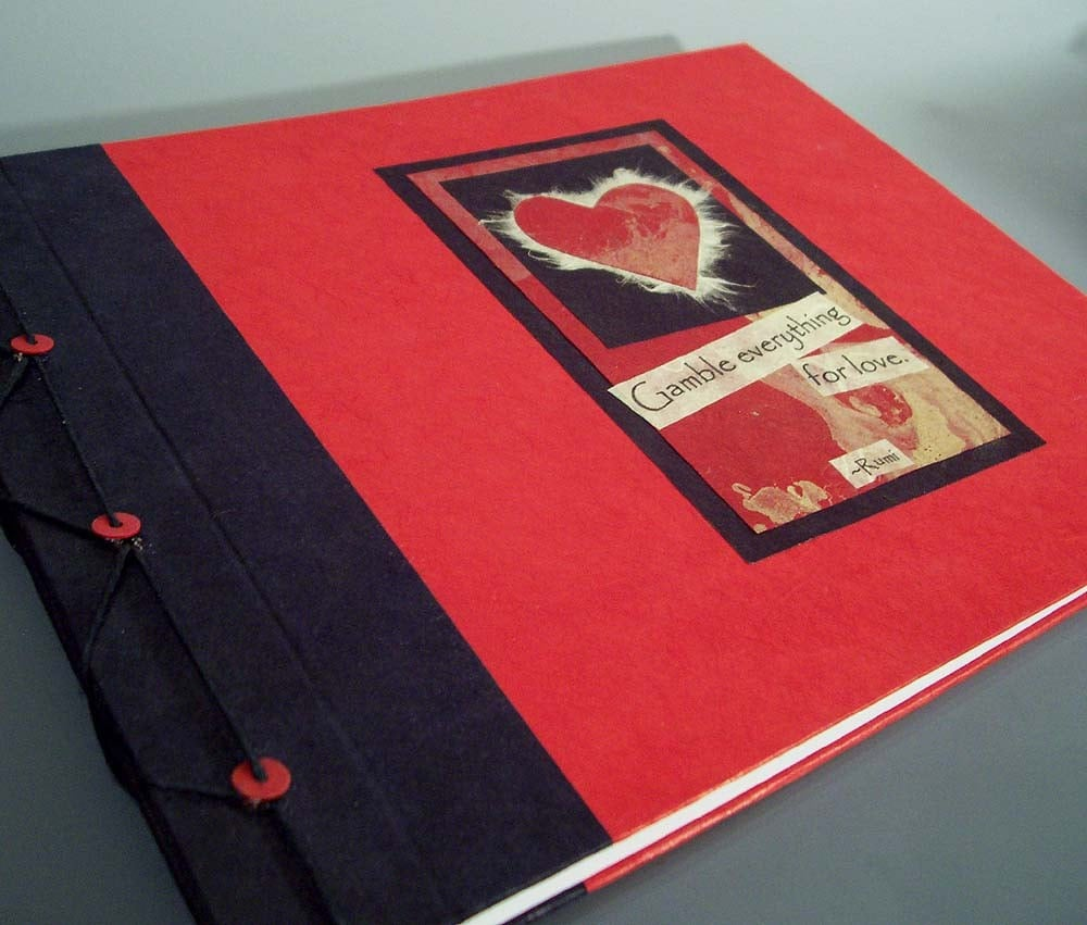 Gamble Everything for Love Journal, $29.50 @etsy.com