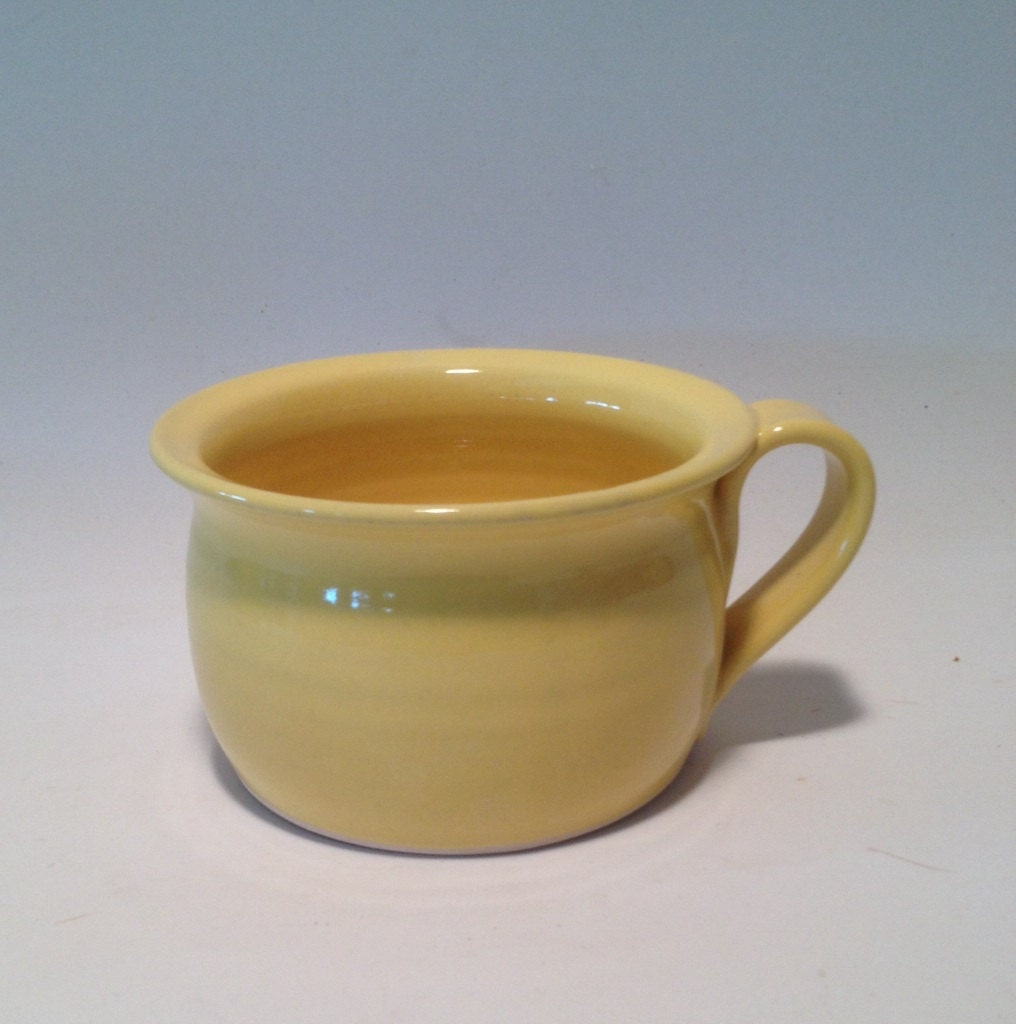 Yellow Soup Mug