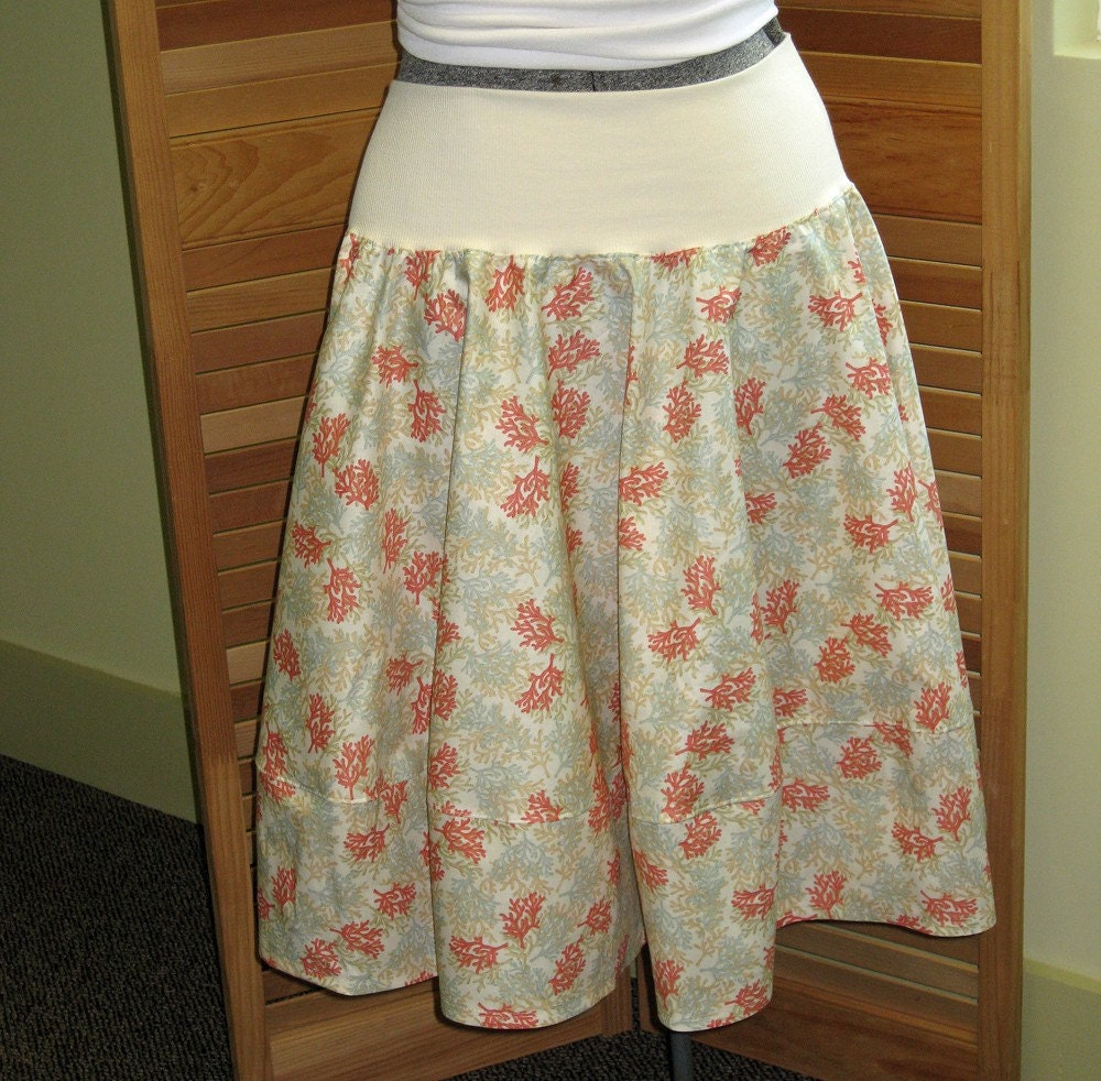 Martinque Coral circle skirt medium large