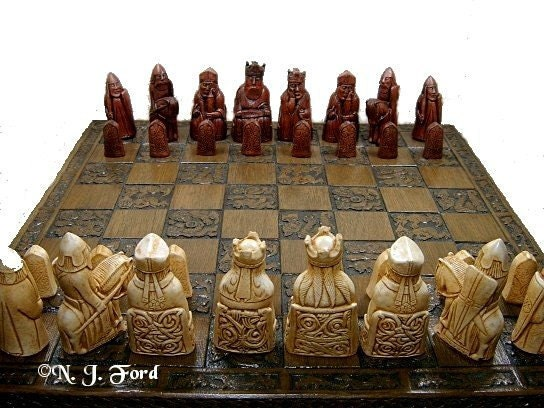 Unavailable listing on etsy - Lewis chessmen set ...