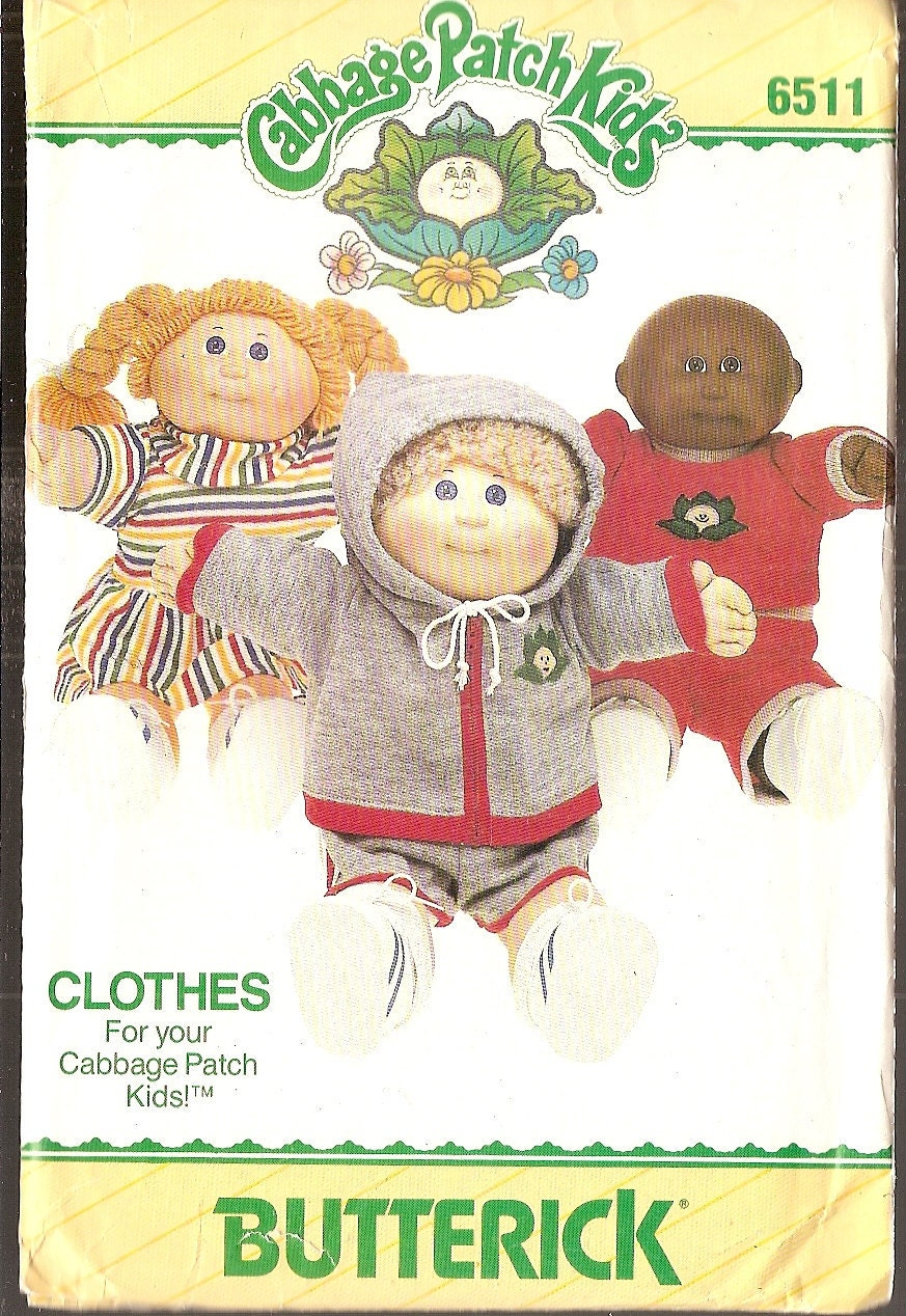 vintage cabbage patch 16 inch doll clothes by nancesnostalgia