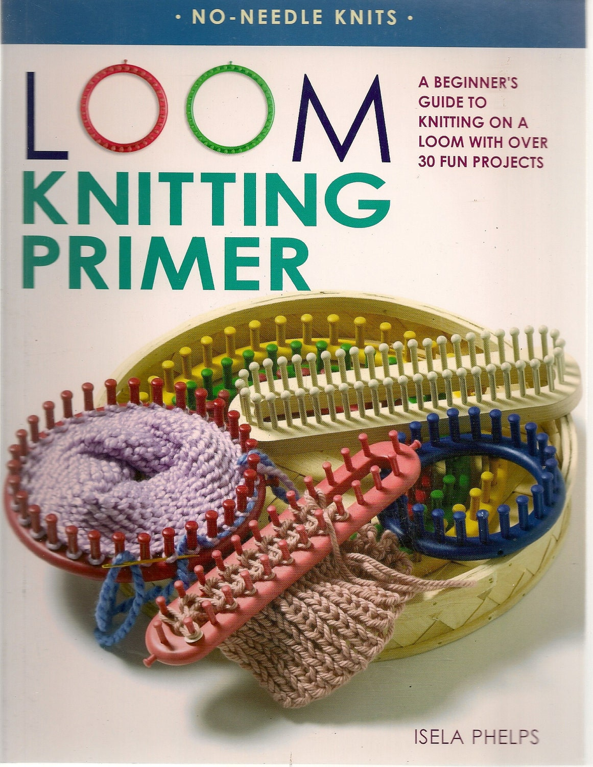 Items similar to Loom Knitting Primer Book on Etsy