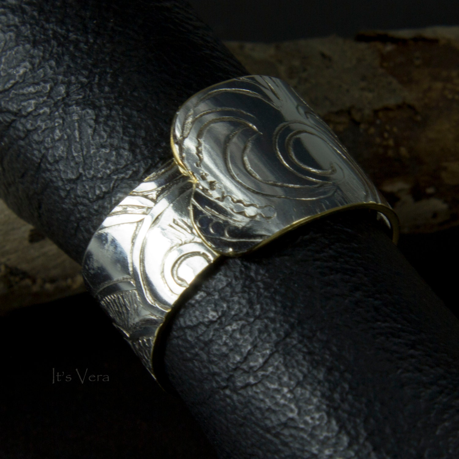unique band ring silver finger ring simple s ring by